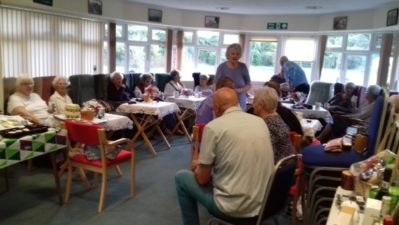 Residents' charity coffee mornings