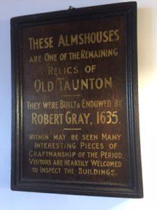 Almshouse Plaque