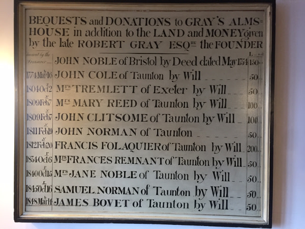 Donations Sign