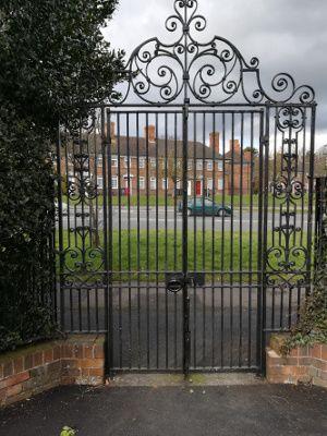 Leycroft Front Gate